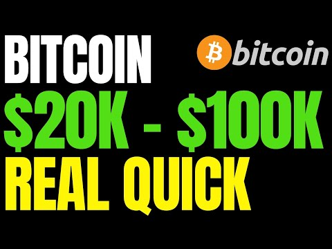 BITCOIN PRICE WILL GO FROM $20K TO $50K AND THEN $100K QUICKLY! | BTC Halving 2020 Prediction