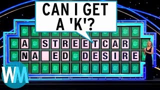 Top 10 Wheel Of Fortune Puzzle Fails