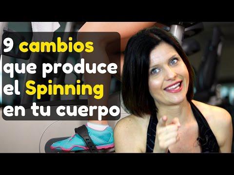 9 cambios que produce el Spinning en tu cuerpo