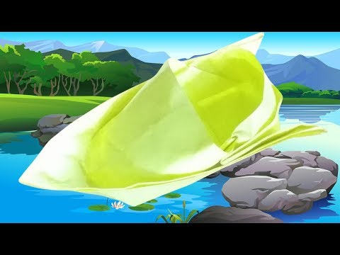 How To Make A Paper Boat That Floats DIY Easy Paper Speed Boat Building Boat By Using A Paper