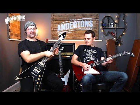 Gibson 2016 Flying V & Explorer Guitars - Trad vs High Performance Demo
