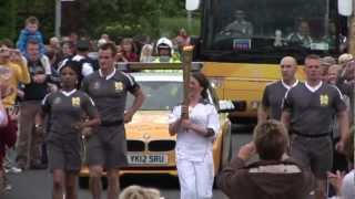 The Olympic Torch Relay in Derry~Londonderry