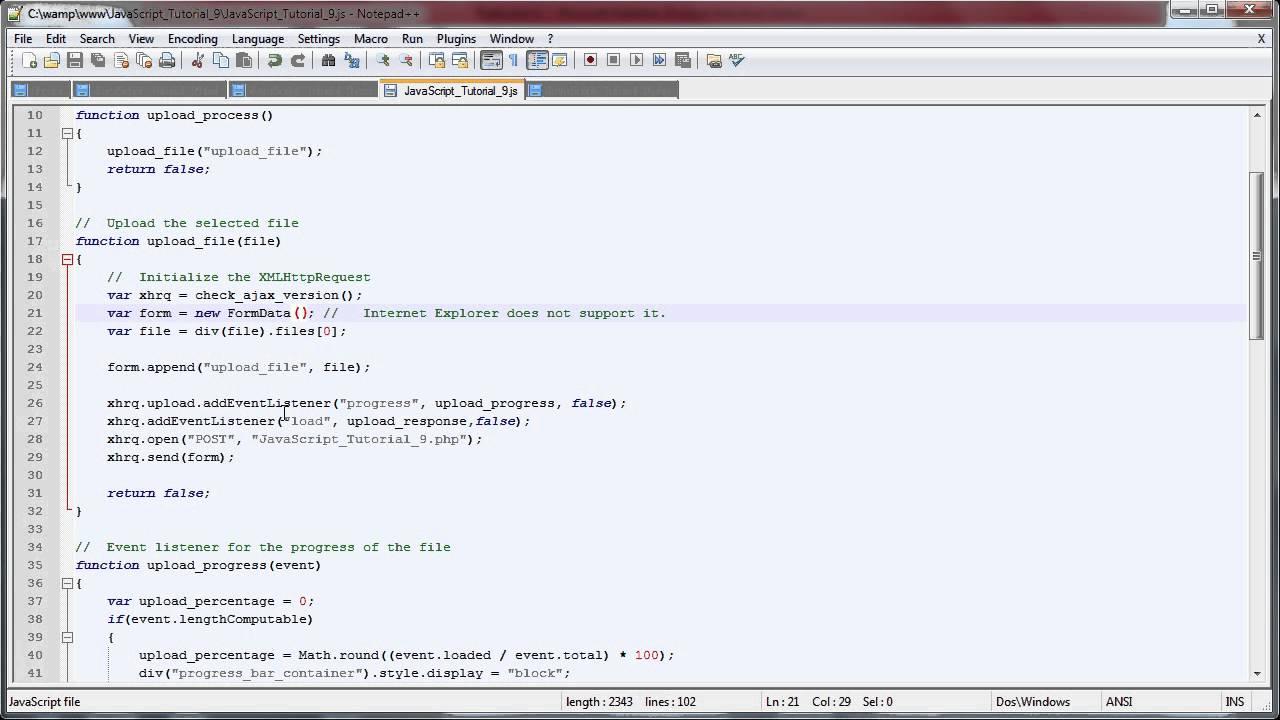 JavaScript Progress Bar (Enhanced with PHP) [9]