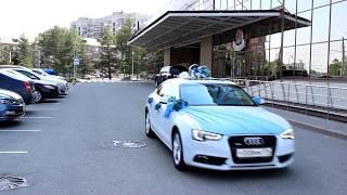 Автомобили на свадьбу Челябинск, белая Audi A5 (www.auto454.ru)