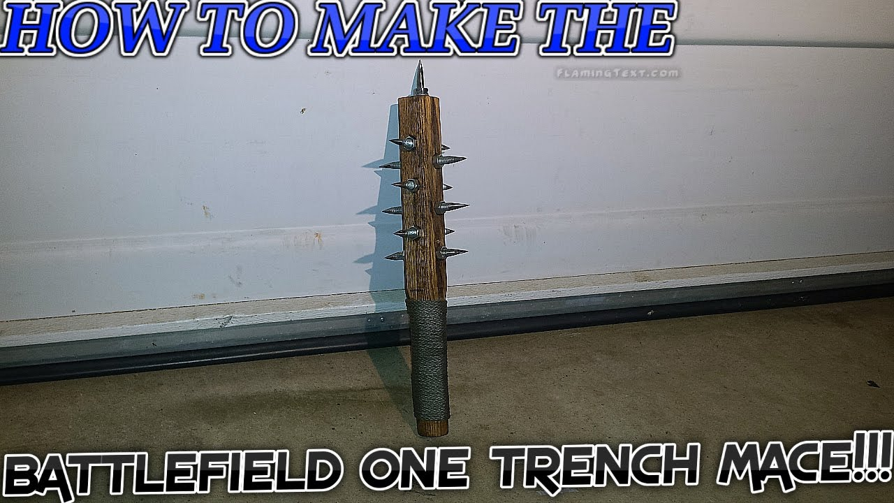how to make a mace