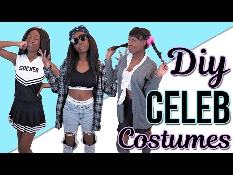 DIY Celebrity Costumes! Aaliyah, Britney Spears & Charli XCX