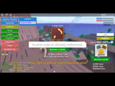 Roblox Strucid Codes - YouTube