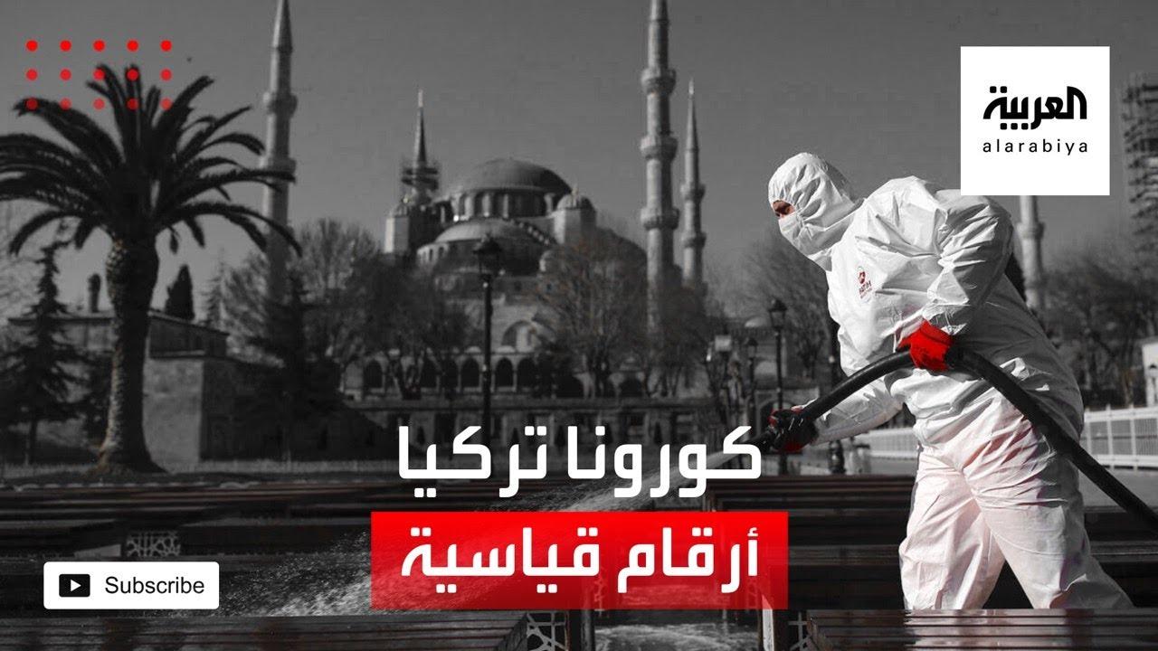 صورة فيديو : فيروس كورونا يتفشى في تركيا ويسجل أرقامًا قياسية