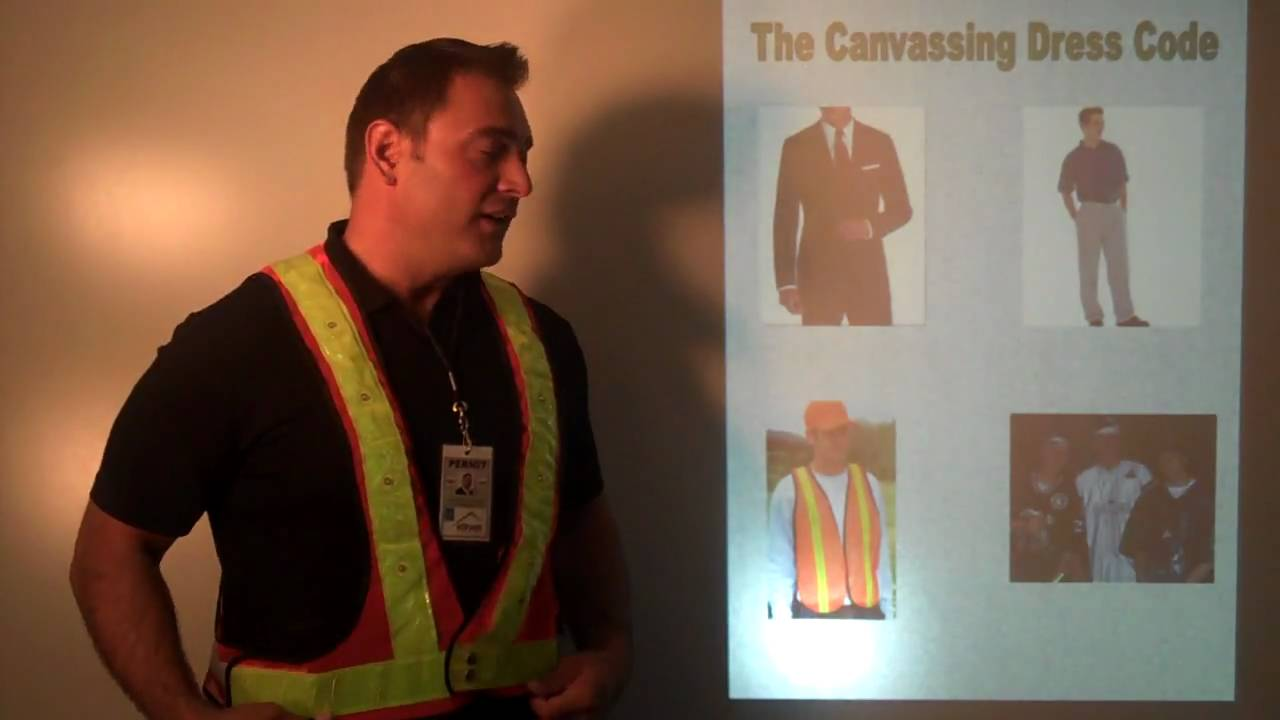 sc 1 st  YouTube & Canvassing uniform / dress code - YouTube