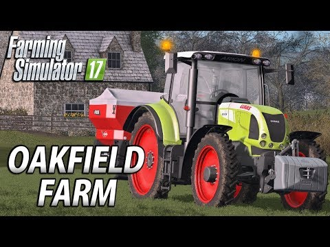 Finishing Field Work For Now | Farming Simulator 17 | Oakfie