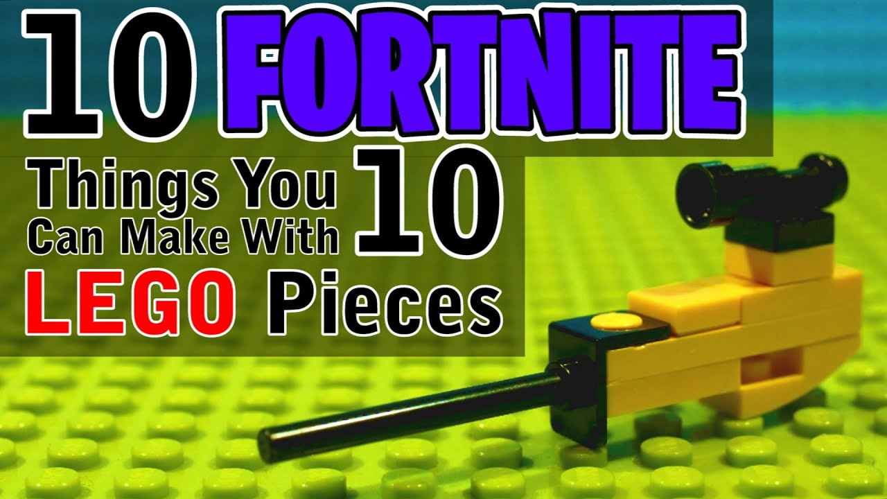 10 Fortnite Things You Can Make With 10 Lego Pieces