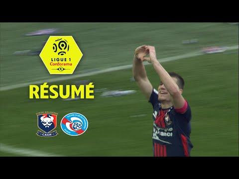 SM Caen - RC Strasbourg Alsace (2-0)  - Résumé - (SMC - RCSA) / 2017-18