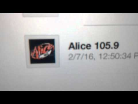 "KALC: ""Alice 105.9"" Denver, CO 2pm MT TOTH ID--02/07/16"