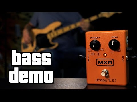 Download Youtube: MXR Phase 100 Bass Demo