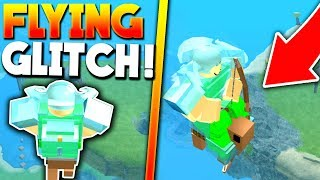 SECRET FLYING GLITCH (How to Fly!) - Roblox Booga Booga