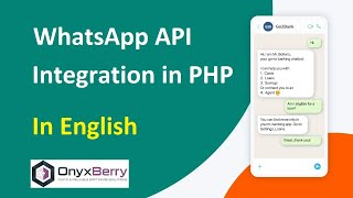 Complete WhatsApp API Integration In PHP | English