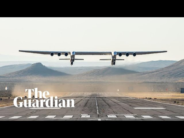 Watch the World's Biggest Plane and another with no moving parts take flight