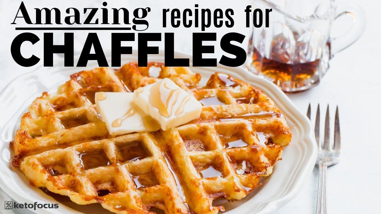 Six Chaffle Recipes How To Make Chaffles Keto Waffle Paffle Youtube