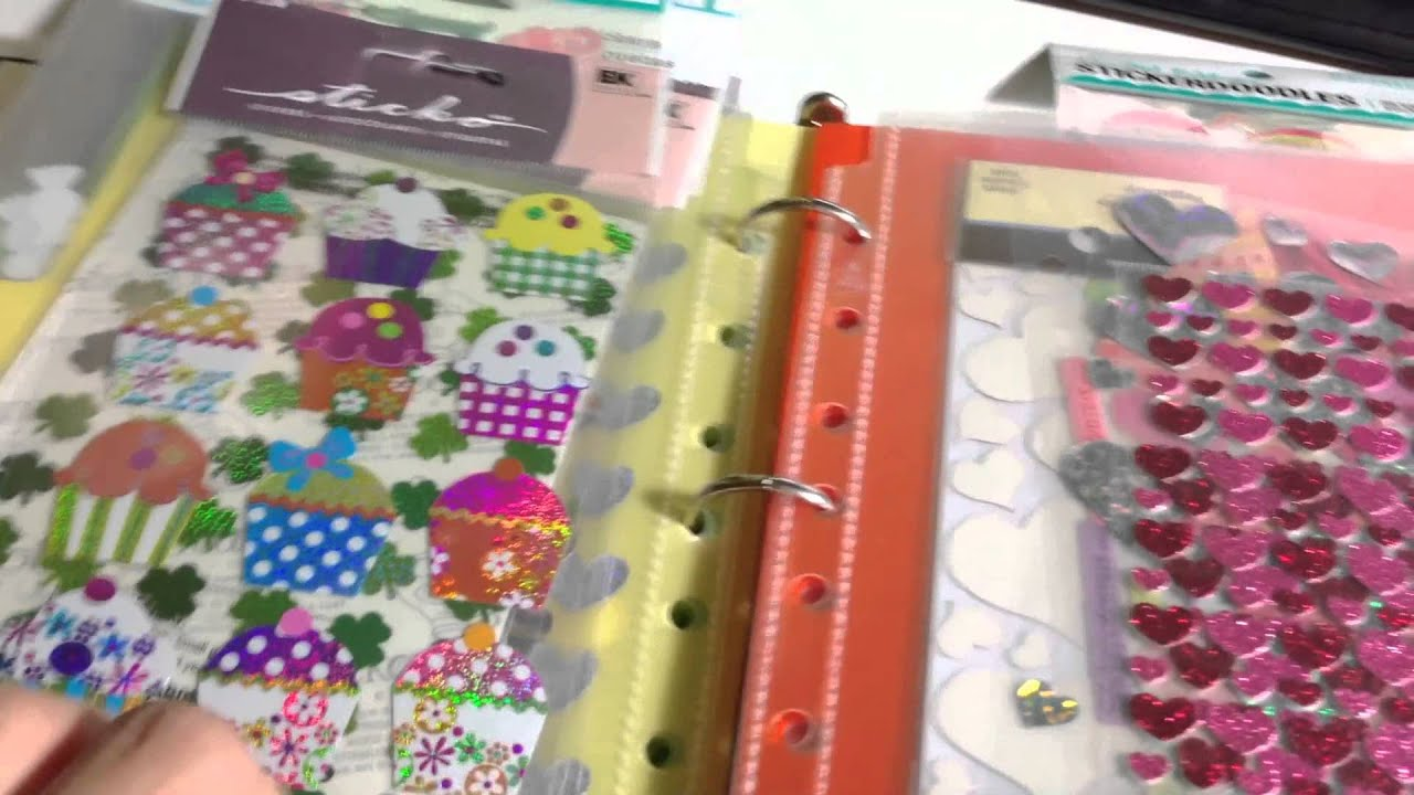 Diy file folder box to organize your stickers youtube - Diy File Folder Box To Organize Your Stickers Youtube 53