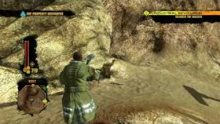 Red Faction Guerrilla - Xbox 360 Demo Gameplay (HD 720p)