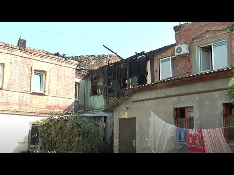 Телеканал Simon: У Харкові палала історична будівля та загинули люди