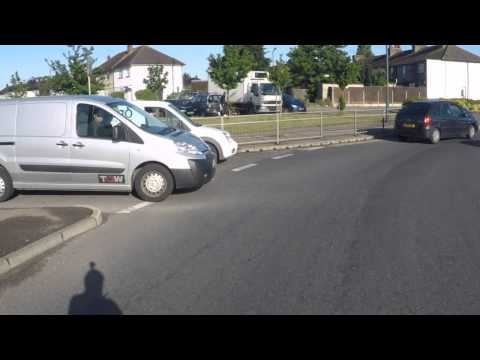 Bad Driving Example
