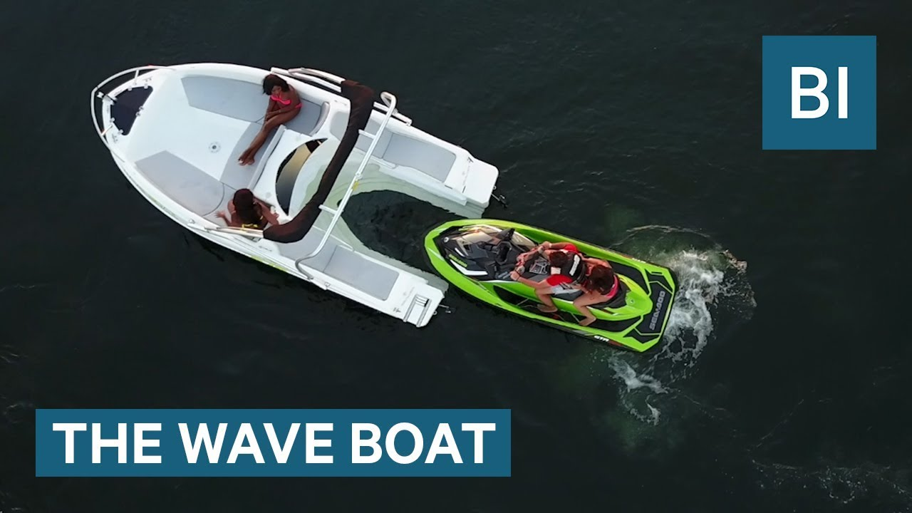 This Boat Is Powered By Your Jet Ski Youtube Low Cost Burglar Alarm For Boats