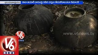 Illegal phenny production in Khammam district