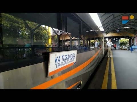 Naik Kereta Api Turangga Terbaru Surabaya-Yogya