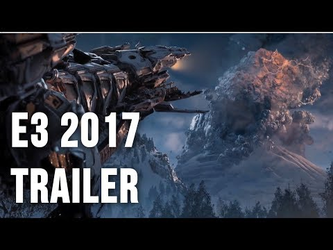 Horizon Zero Dawn The Frozen Wilds DLC - E3 2017 Trailer