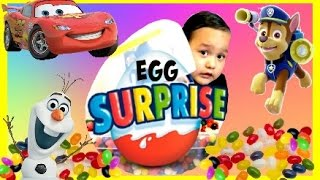 ryan s toy review inspired   giant egg surprise disney cars toy nickelodeon toys in candy