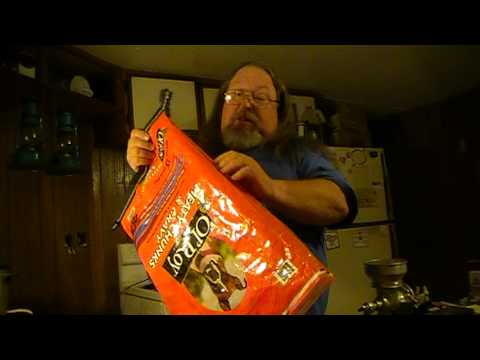 Ghetto Prepper Series video. Animal feed bags.