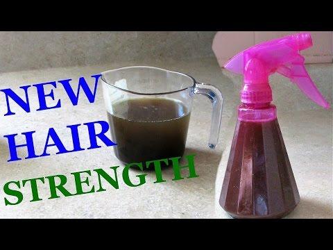Natural Hair Ayurvedic Herbal Hair Strengthening Leave-in Spray