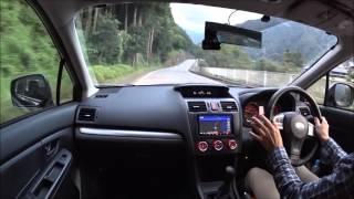 インプレッサG4 1.6L 5MT  車載動画  群馬県上野村- 神流町