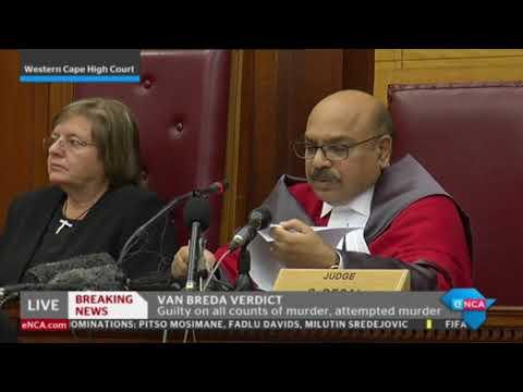 Henri van Breda guilty of murder