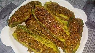 नया और बिलकुल नया भरवां करेला खाने से कोई मना नहीं कर सकेगा | Bharwa Karela recipe in hindi