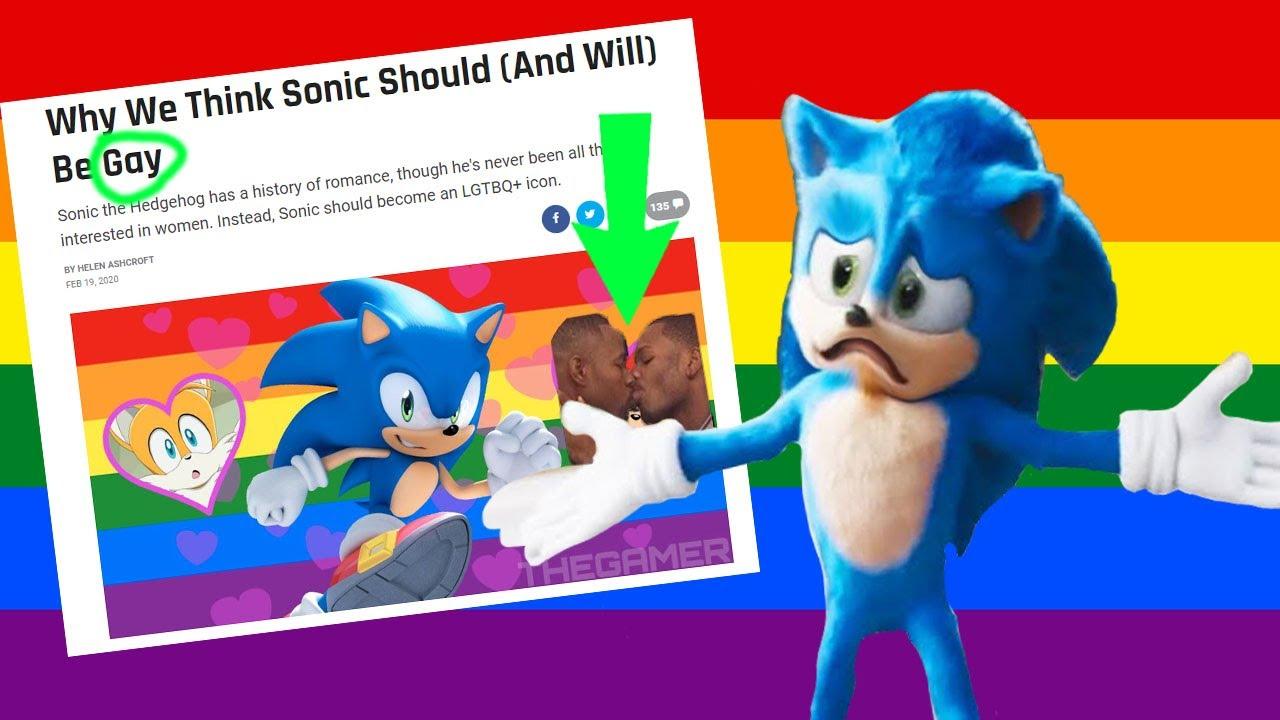 SONIC QUE TE PASA !!! , ERES GAY - YouTube