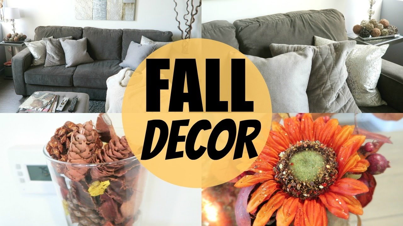 Affordable Fall Apartment Decor - YouTube