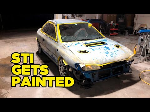 When It Won't Buff Out, Paint The Whole Thing // Marty's WRX STI