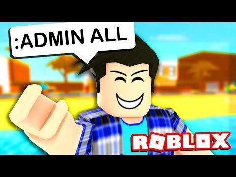 ROBLOX ADMIN COMMANDS TROLLING