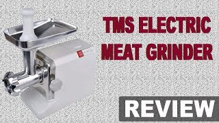 New Meat Grinder | TMS Electric 2000 Watt Industrial Meat Grinder Review (Best) 2018