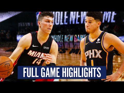 PHOENIX SUNS vs MIAMI HEAT - FULL GAME HIGHLIGHTS | 2019-20 NBA SEASON