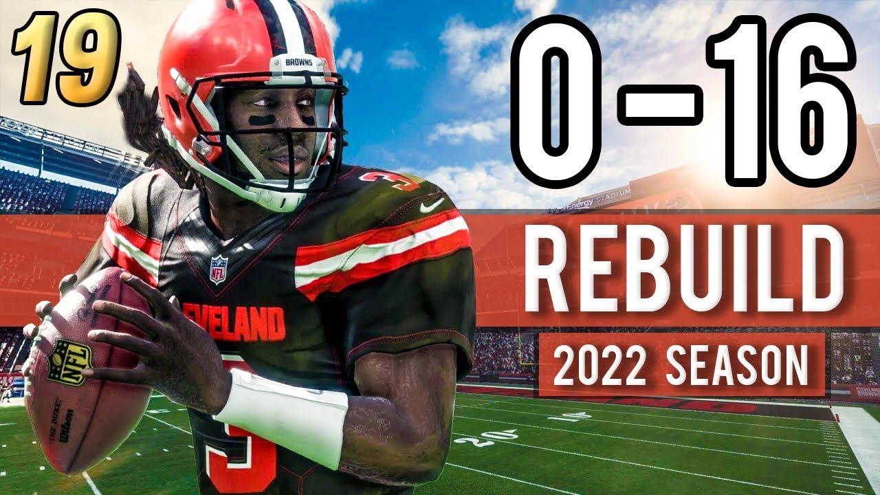 THRILLING SEASON 5 OPENER! (2022 Season) - Madden 18 Browns 0-16 ... a495538e6