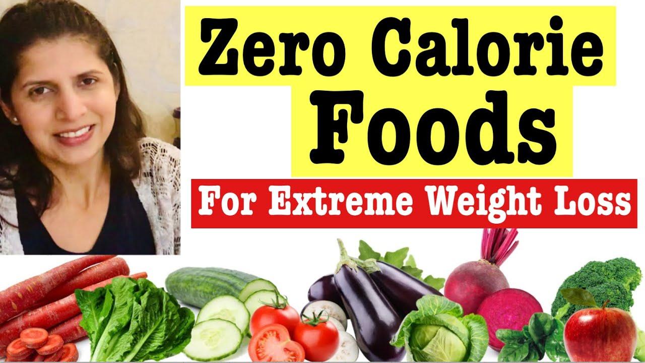 negative calorie diet food