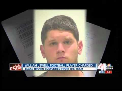 William Jewell football player charged