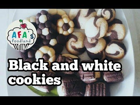 How To Make Black And White Cookies? Recipe Of Cookies I Afa's Foodland