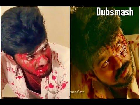 Mersal Vetri Maran Death Dubsmash | Mersal Dubsmash | Ultimate | Done By Vijay Ravichander