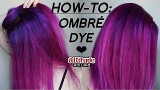 Ombré Hair Dye Tutorial
