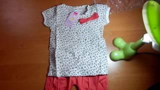 Обзор посылки с AliExpress (детский костюм)