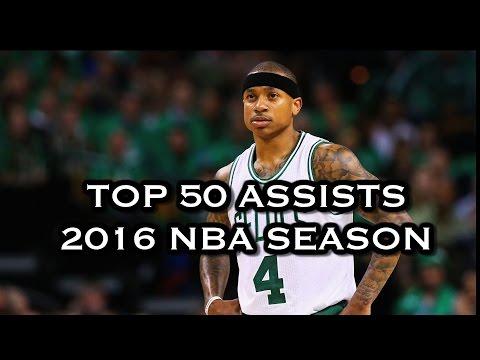 Top 50 Assists: 2016 NBA Season